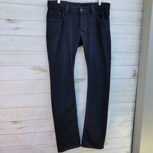 Rockabilly brand jeans 32x33 black retro vlv